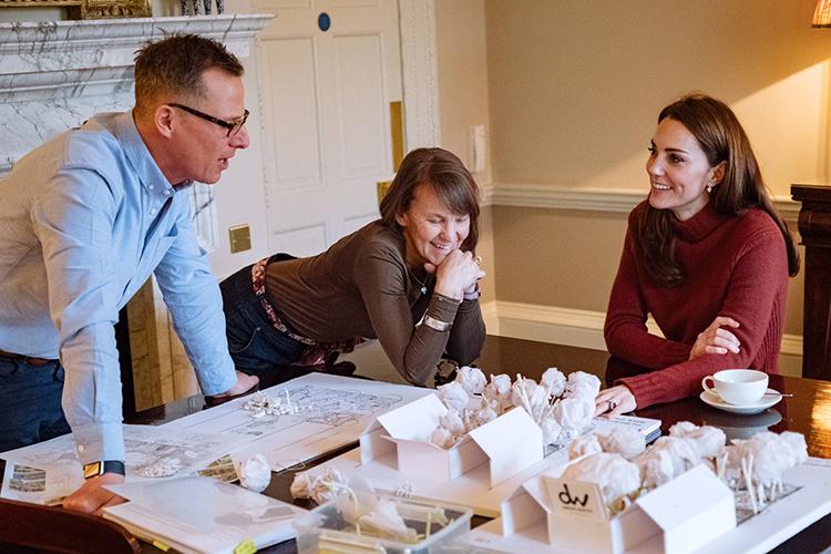 Кейт Миддлтон создала проект сада для ежегодной выставки Chelsea Flower Show