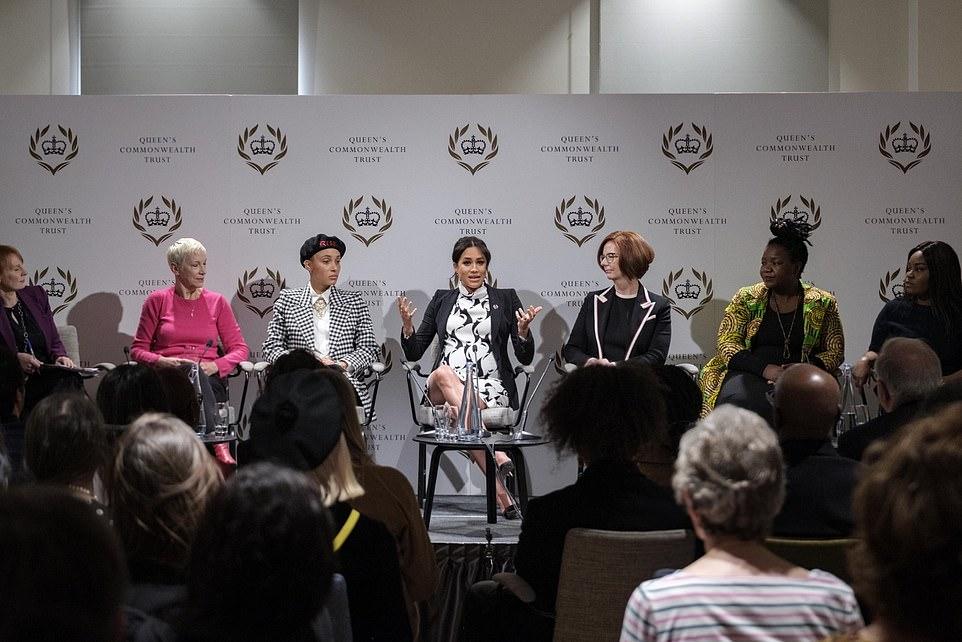 Меган Маркл высказалась на тему прав женщин в современном мире