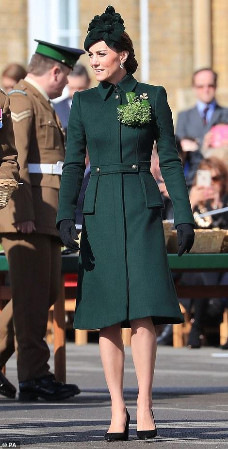 Принц Уильям и Кейт Миддлтон на празднике Дня святого Патрика