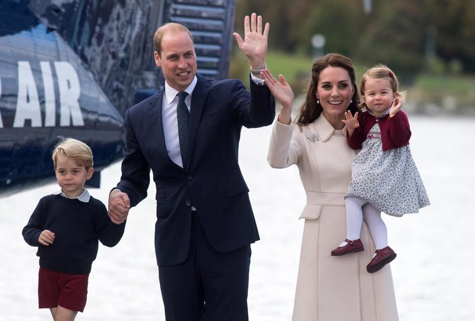 Принц Уильям и Кейт Миддлтон планируют провести время с детьми