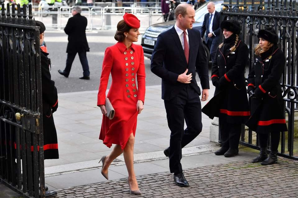 Модные образы Кейт Миддлтон и Меган Маркл в Вестминстерском аббатстве