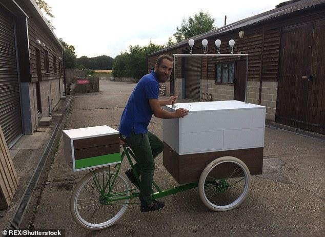 Брат Кейт Миддлтон продает свой необычный трехколесный велосипед