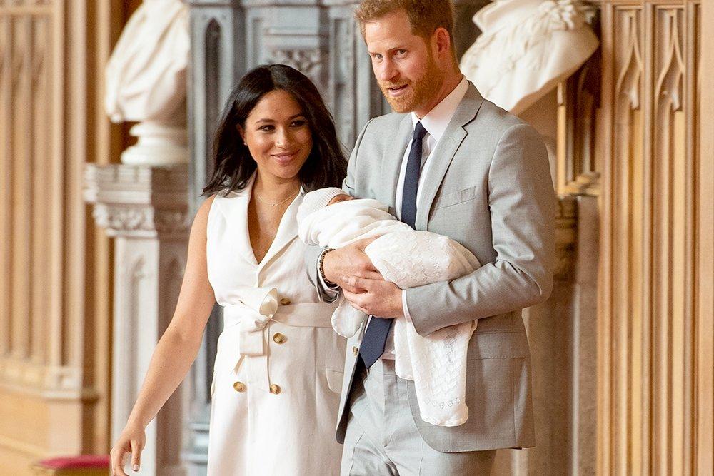Принц Уильям и Кейт Миддлтон все же увидели сына Гарри и Меган Маркл