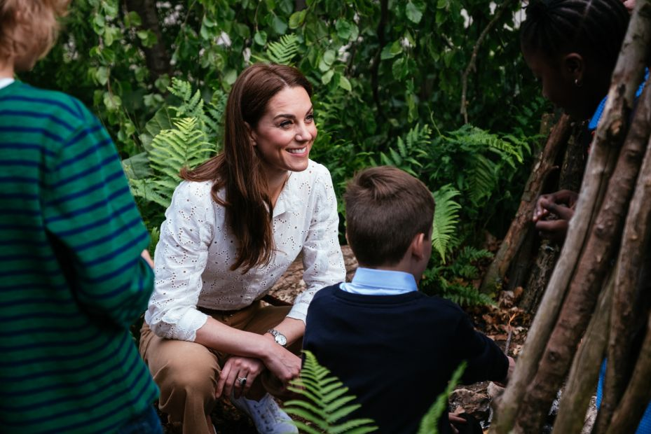 Кейт Миддлтон готовит еще один сад для фестиваля в Хэмптон-Корт-Палас