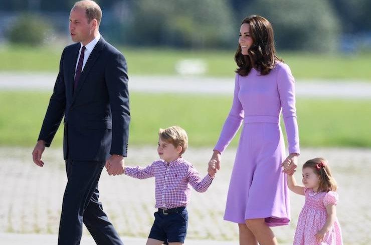 Принц Уильям, Кейт Миддлтон и детишки отдыхают в Норфолке