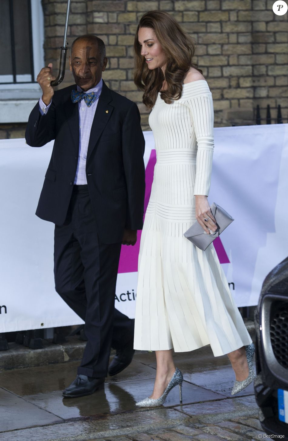 Кейт Миддлтон в роскошном платье выступила на гала-ужине Action on Addiction
