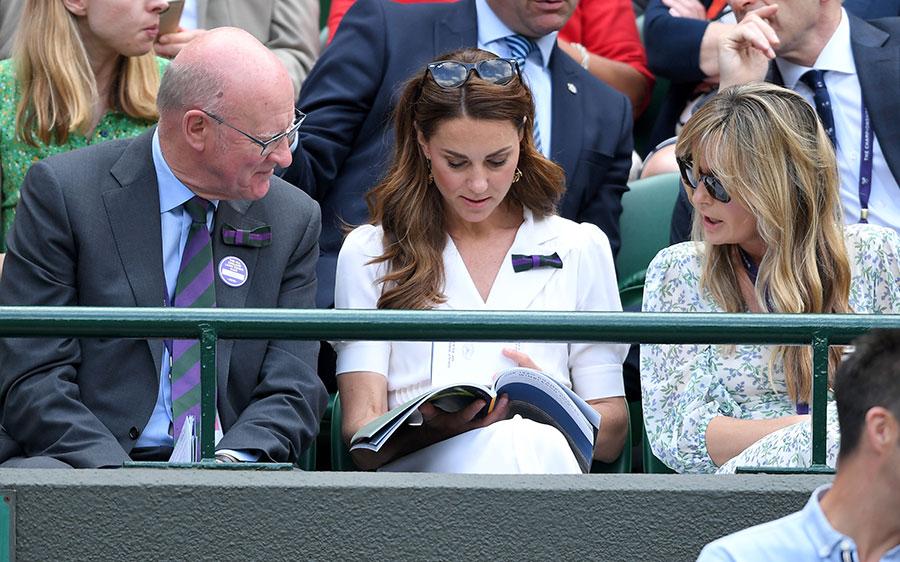 Кейт Миддлтон побывала на Уимблдонском турнире