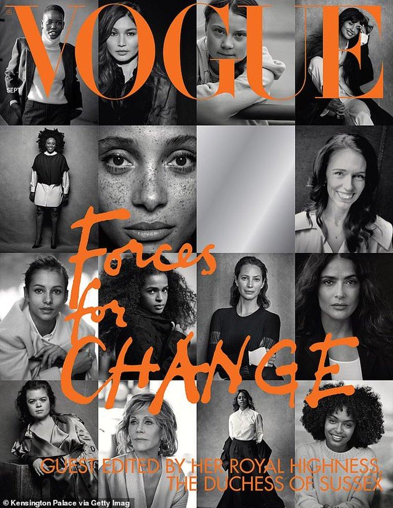 Тема и обложка сентябрьского номера Vogue от Меган Маркл уже в сети