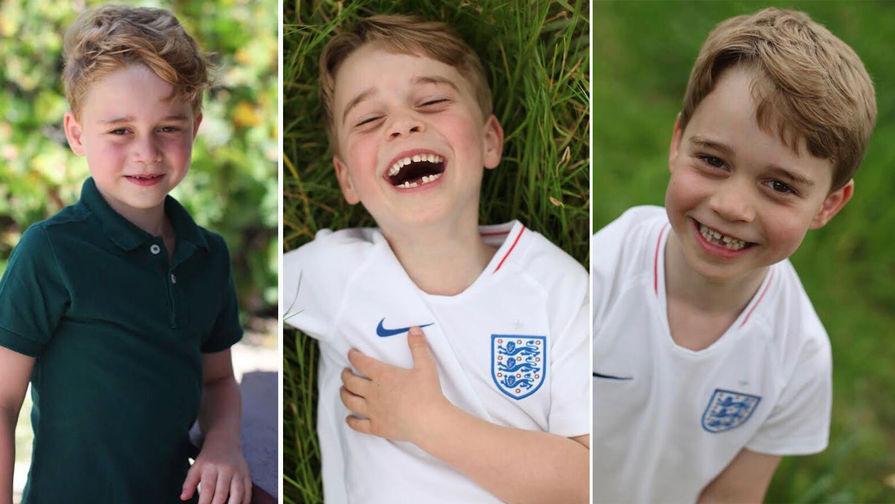 Что принц Уильям и Кейт Миддлтон приготовили на день рождения Джорджа?