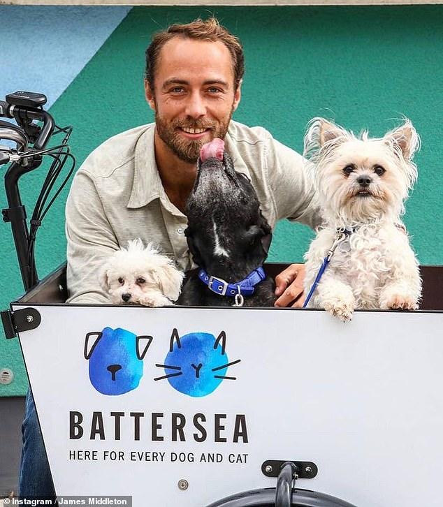 Брат Кейт Миддлтон сделал щедрое пожертвование в приют Battersea Dogs & Cats Home
