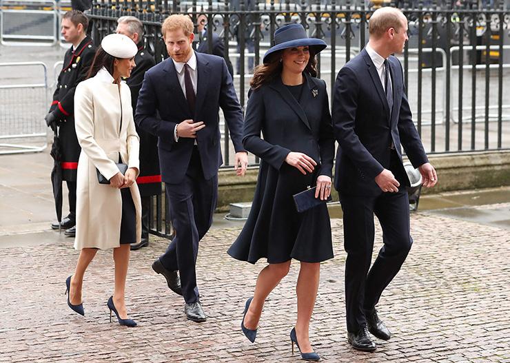 Принц Уильям и Кейт Миддлтон вычеркнули титулы принца Гарри и Меган Маркл из названия общей благотворительной организации