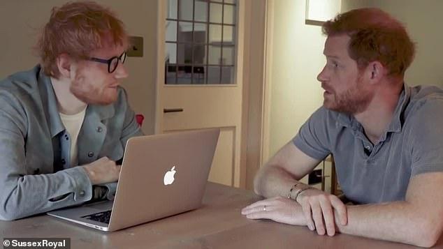 «Мы рыжие!» – Принц Гарри и Эд Ширан выпустили веселый ролик в честь Всемирного дня психического здоровья