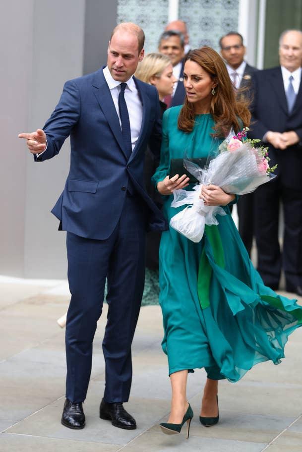 Принц Уильям и Кейт Миддлтон побывали в мусульманском культурном центре Лондона