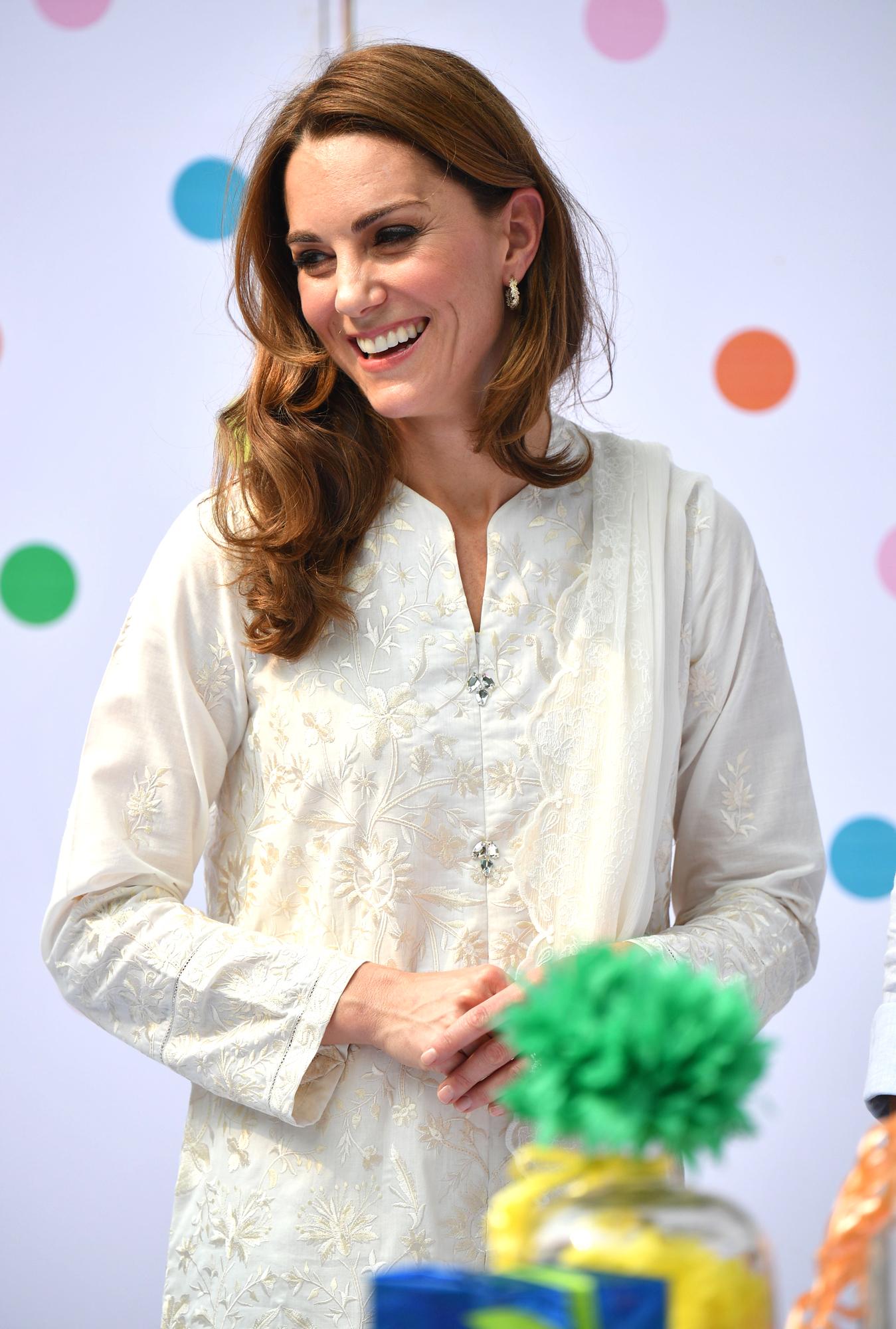 Кейт Миддлтон восхитилась в Инстаграм работой пакистанского фонда SOS Children's Village
