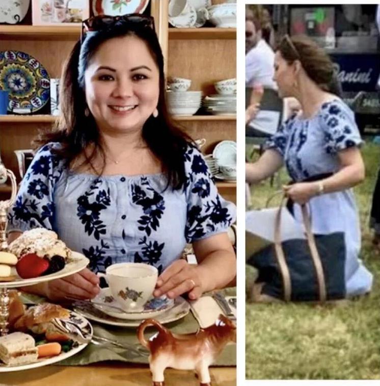 40-летняя американка копирует стиль Кейт Миддлтон и тратит на это 650 долларов в месяц