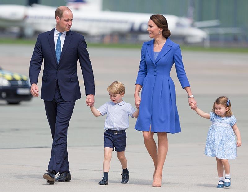 Как принц Уильям и Кейт Миддлтон готовят Джорджа к роли будущего короля?