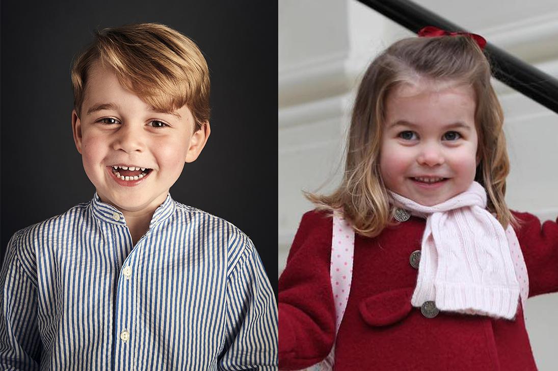 Принц Джордж и принцесса Шарлотта: контраст характеров
