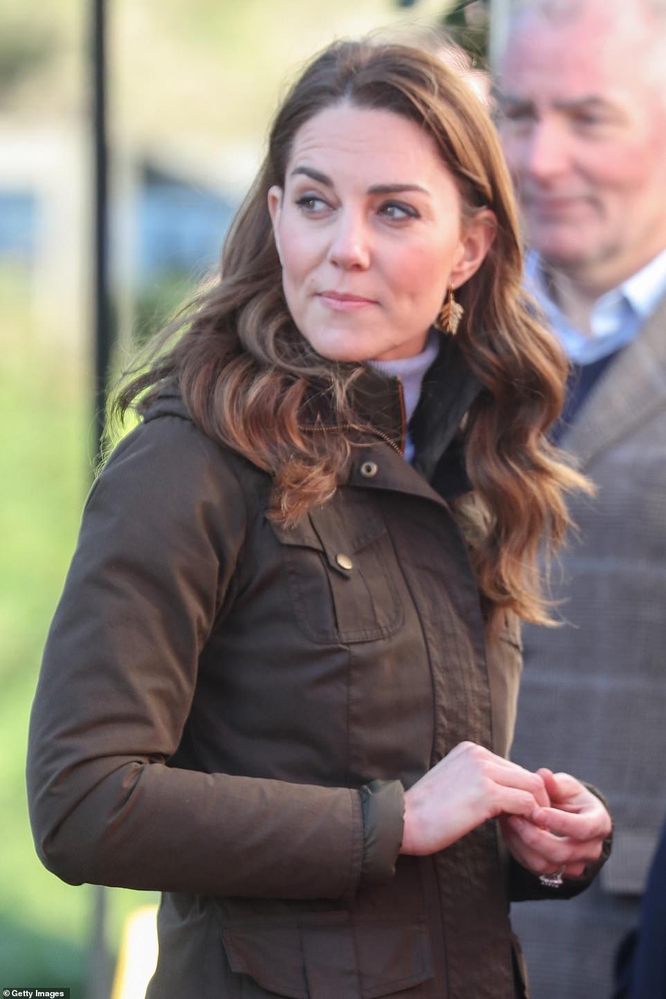 Кейт Миддлтон неожиданно приехала на ферму в Северной Ирландии
