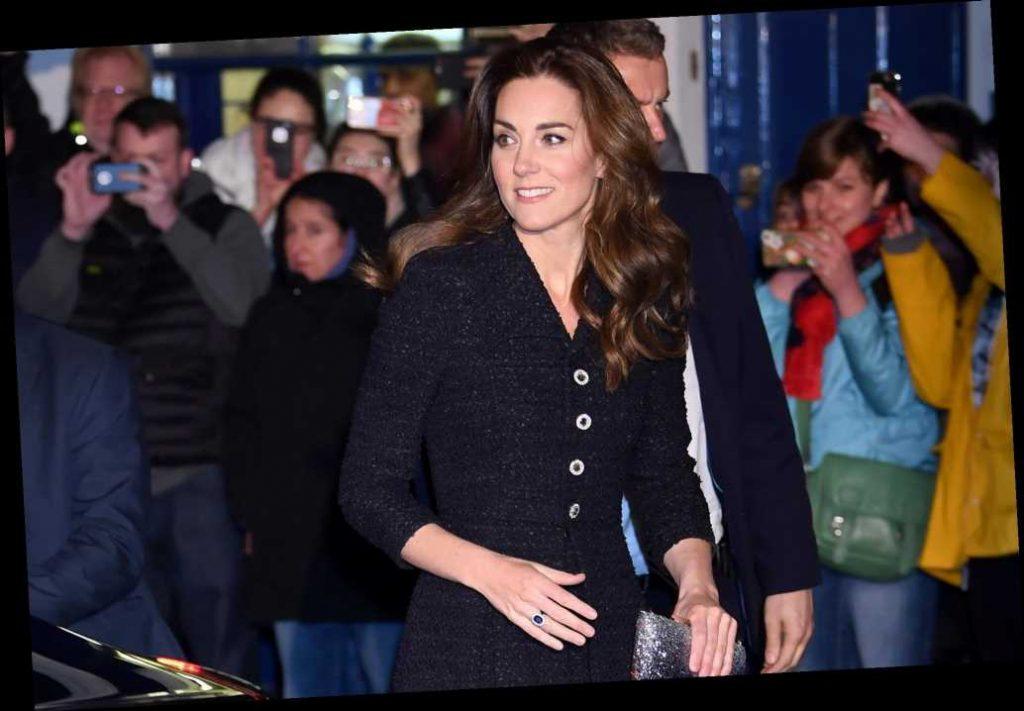 """Кейт Миддлтон и принц Уильям посетили лондонский театр """"Noel Coward"""""""