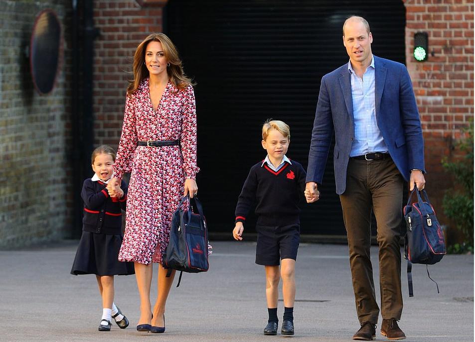 Кейт Миддлтон и принц Уильям проговорились об увлечениях маленьких Кембриджей