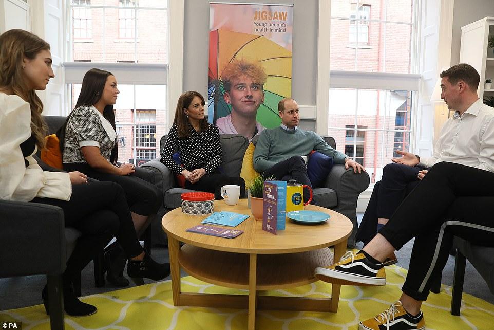 Принц Уильям и Кейт Миддлтон посетили ирландский благотворительный фонд Экстерн