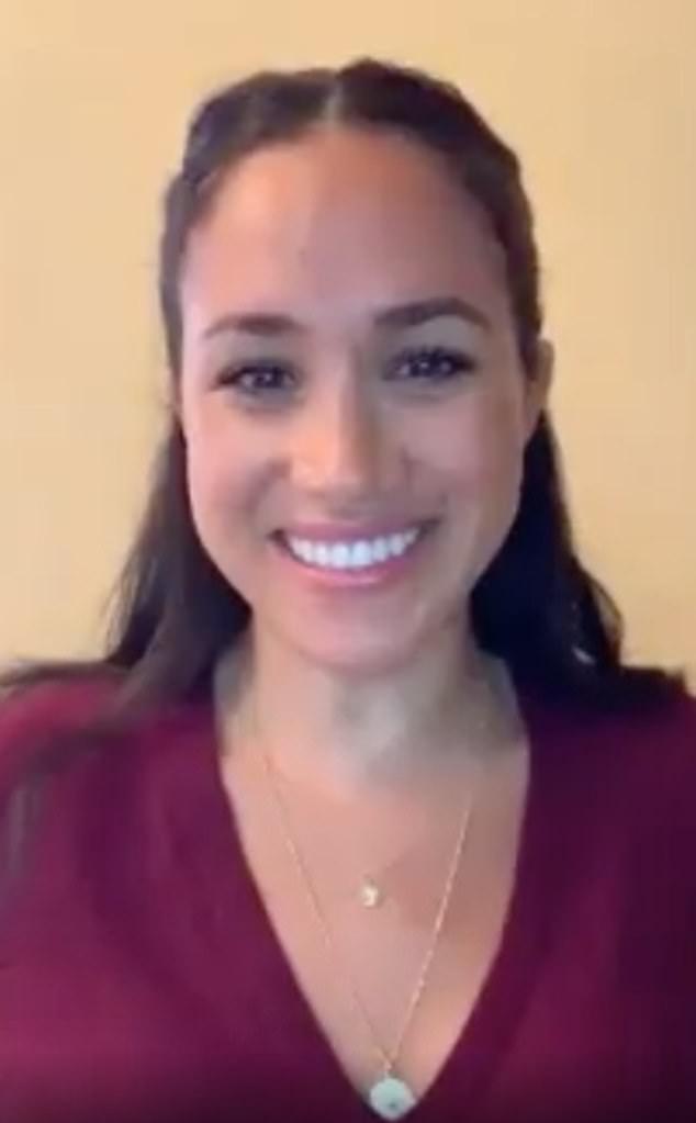 Меган Маркл поговорила по видеосвязи с американкой, которая ищет работу