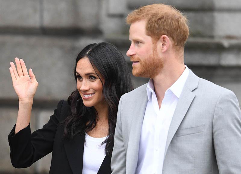 Принц Гарри и Меган Маркл доставляют еду – видео уже в сети