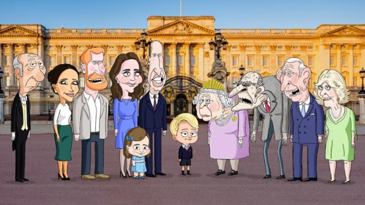 В сеть выложили первый трейлер сатирического мультика про принца Джорджа