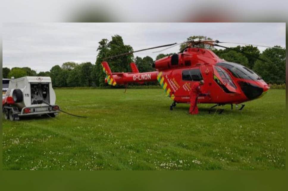 Принц Уильям разрешил медицинским вертолетам заправляться во Дворце