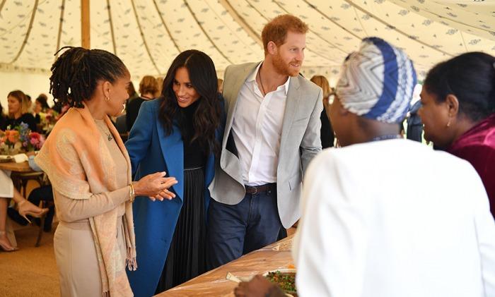 Принц Гарри и Меган Маркл отпраздновали День матери с мамой Меган Дорией Рэгланд