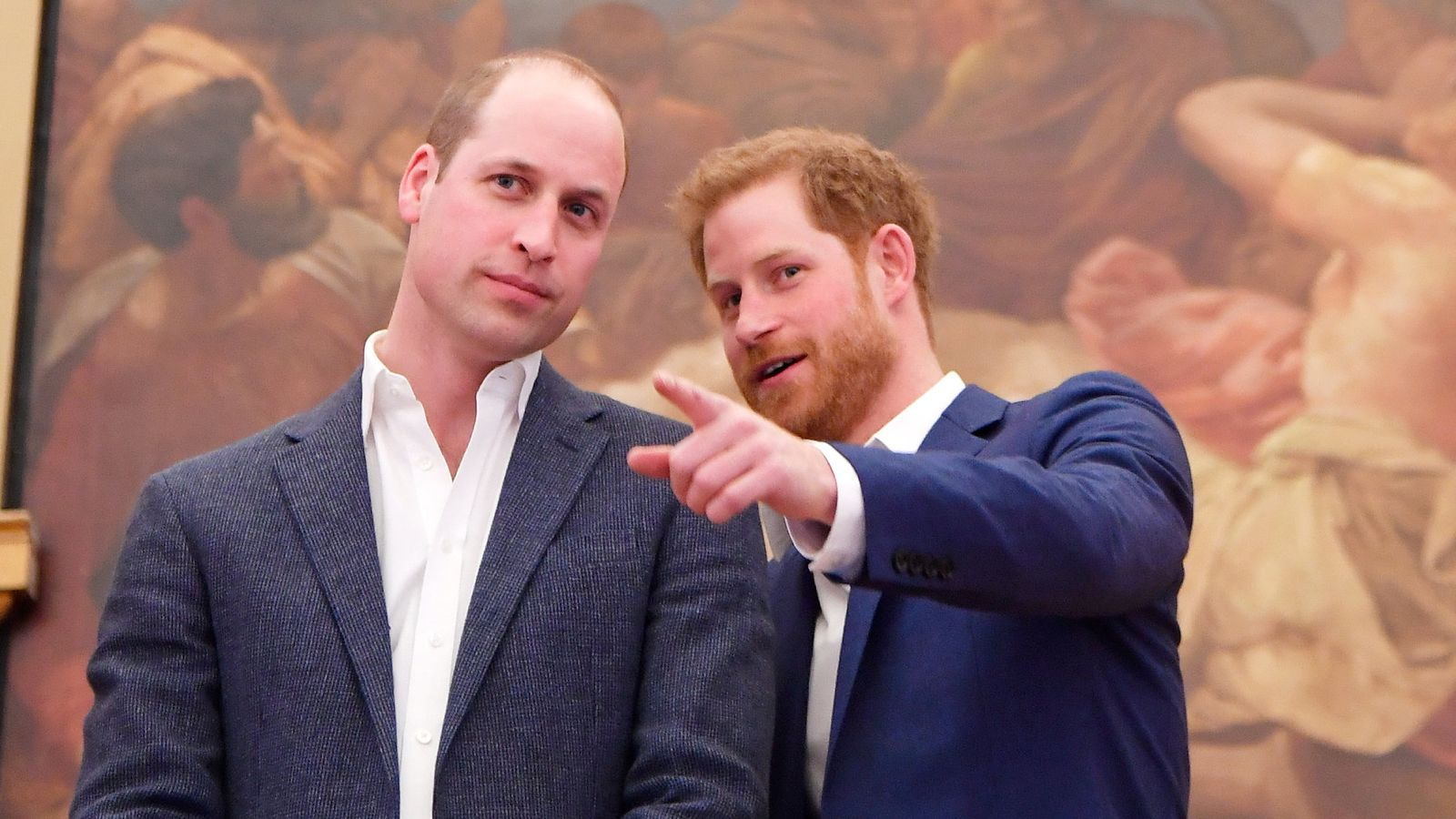Отношения между принцами Уильямом и Гарри налаживаются