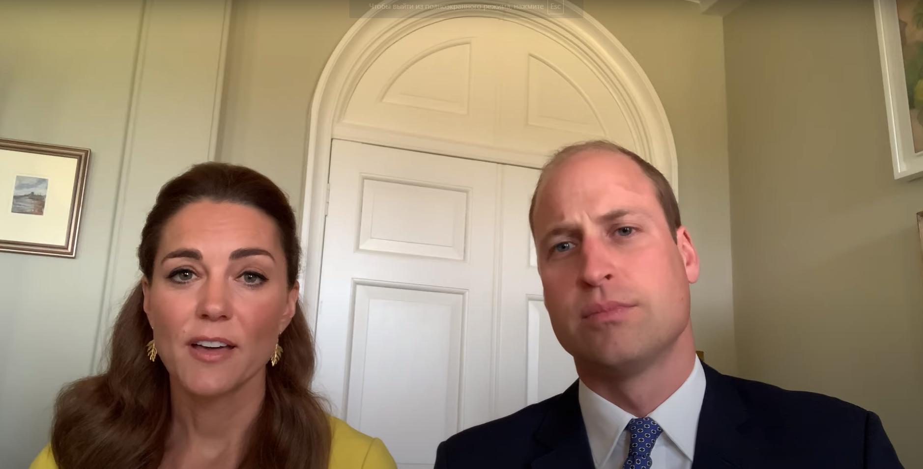 Принц Уильям и Кейт Миддлтон на видео обратились к австралийцам
