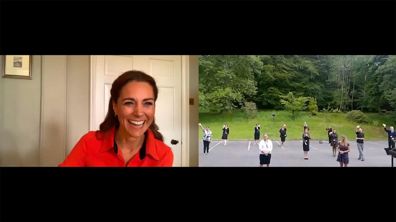 Кейт Миддлтон виртуально посетила центр лечения наркомании