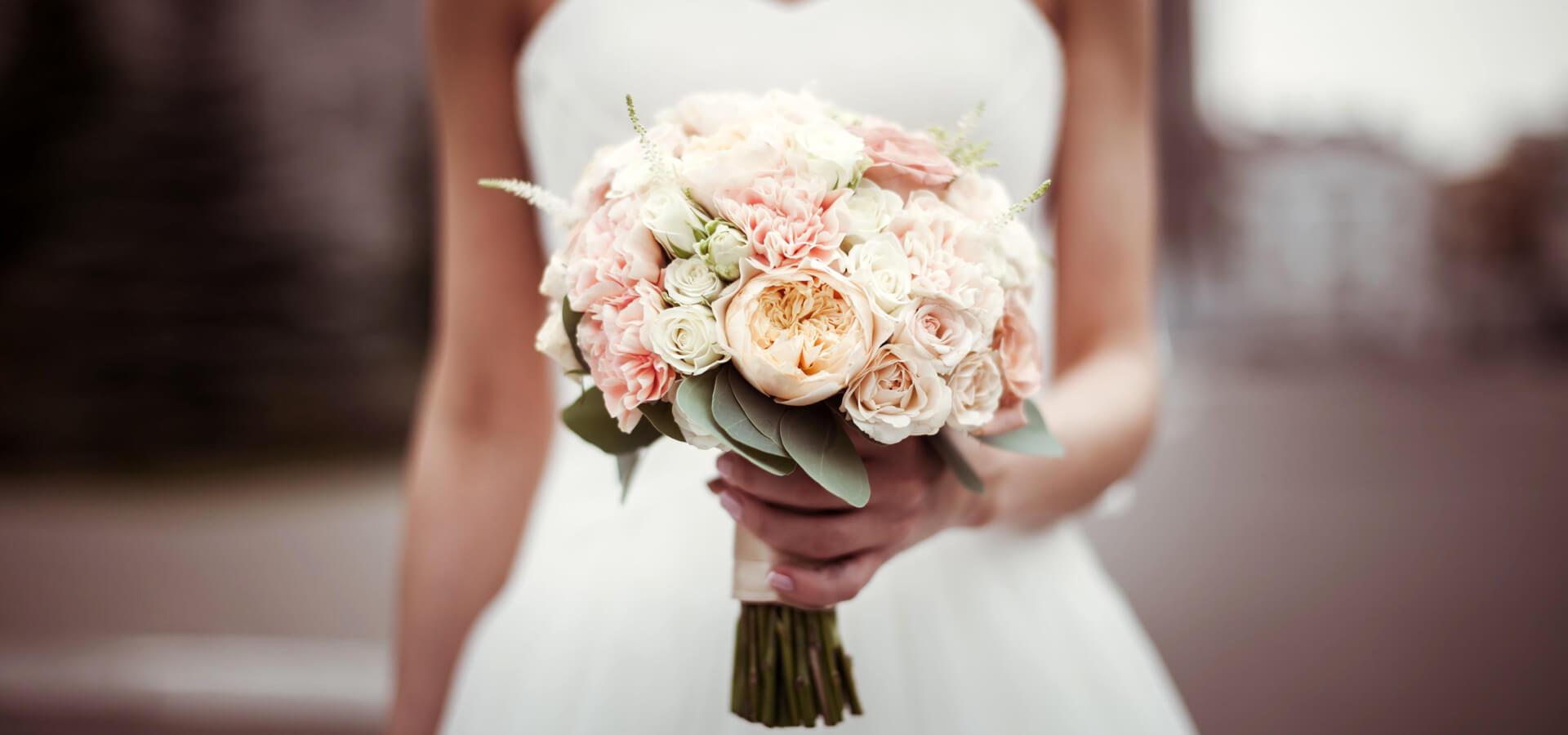 Особенности оформления свадебного букета