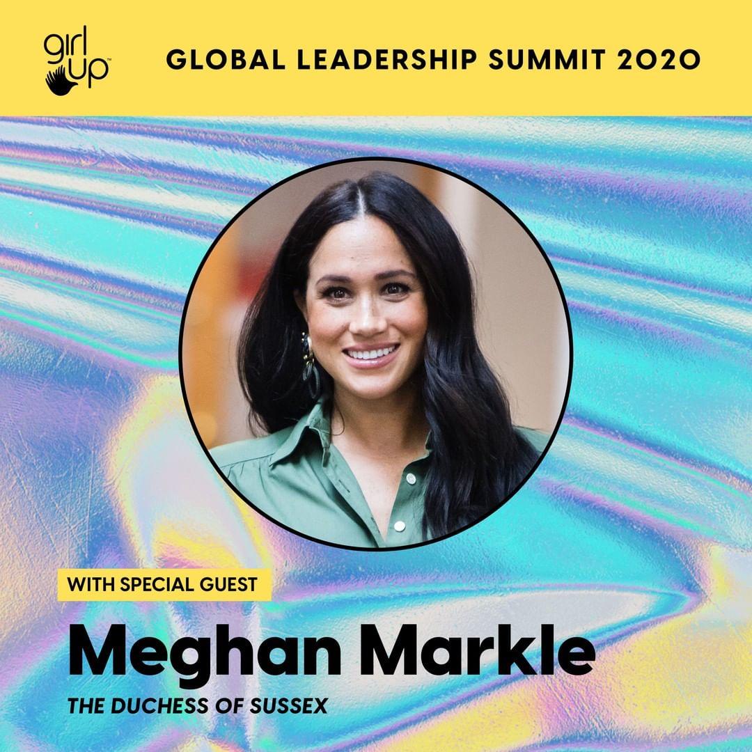 Меган Маркл заявлена как основной спикер на предстоящем саммите Girl Up Global Leadership