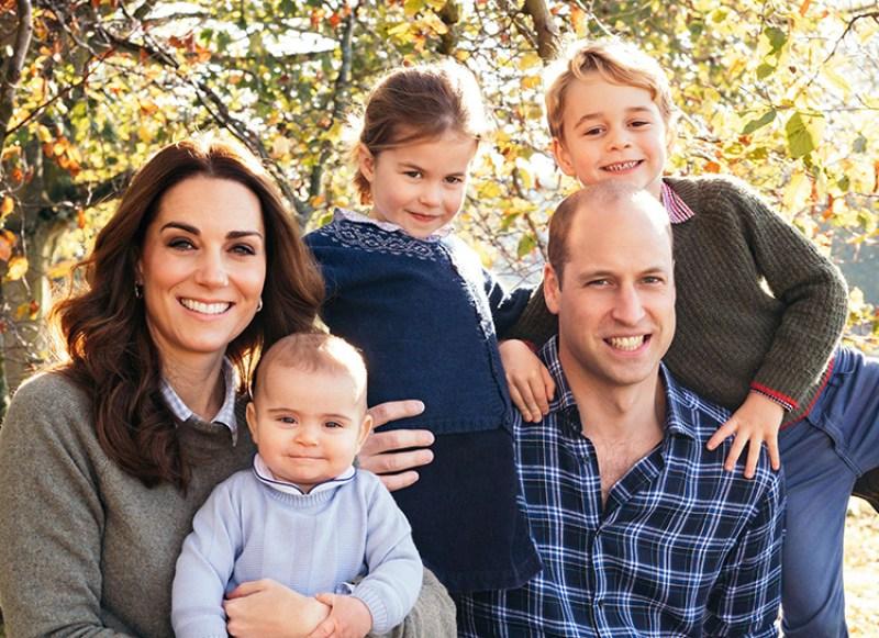 Принц Уильям и Кейт Миддлтон показали подросших наследников