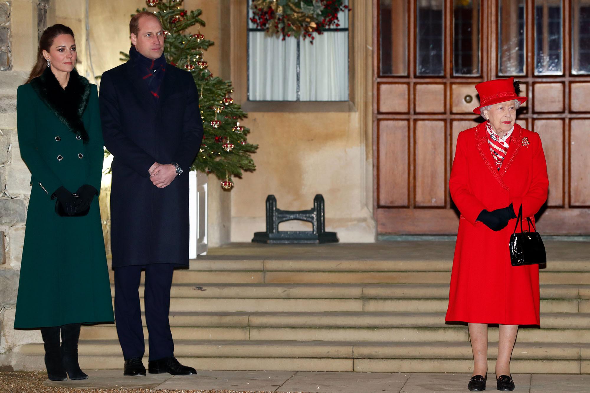 Финальная точка турне принца Уильяма и Кейт Миддлтон: герцоги встретились с Королевой в Виндзорском замке