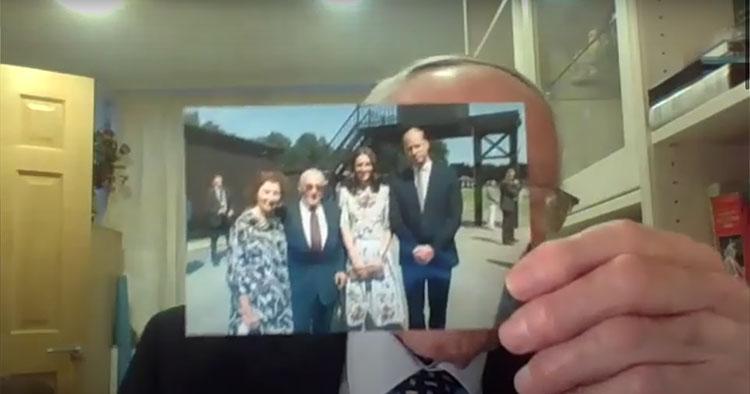 Кейт Миддлтон провела виртуальную встречу с бывшими узниками концлагеря Штуттгоф