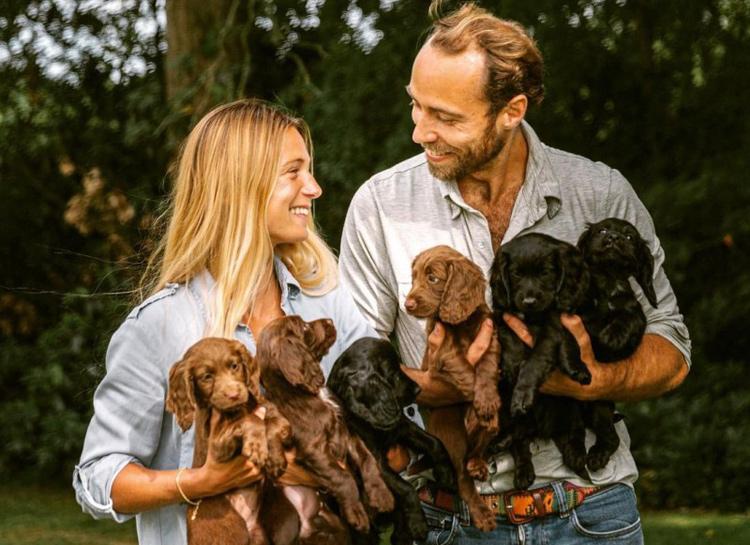 У Кейт Миддлтон и принца Уильяма появился щенок – копия домашнего любимца Лупо