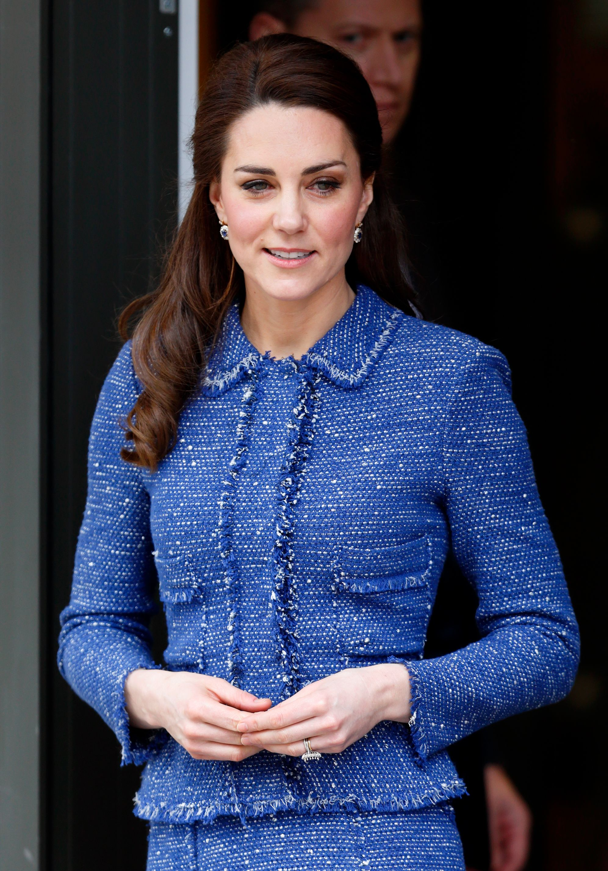 Кейт Миддлтон пообщалась с учителями: для онлайн-встречи герцогиня надела старый пиджак