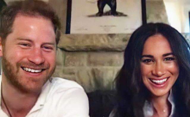 Принц Гарри и Меган Маркл подключились по Zoom к онлайн-занятию поэтического кружка