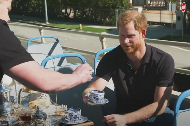 Принц Гарри дал «сольное» интервью Джеймсу Кордену в рамках «The Late Late Show with James Corden»