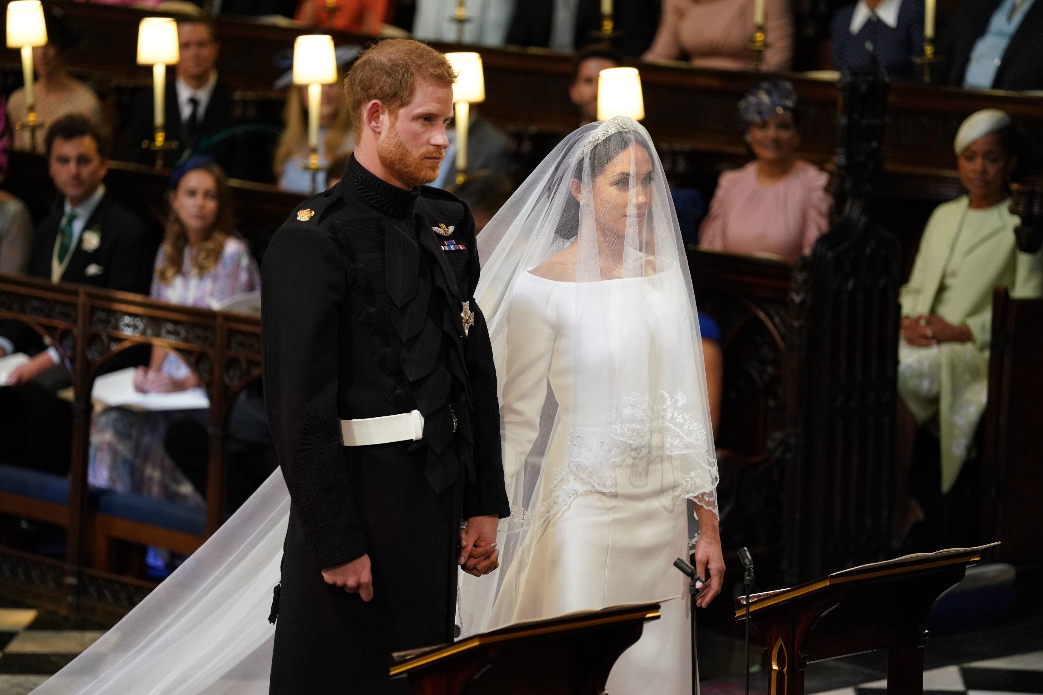 Принц Гарри и Меган Маркл признали, что у них не было тайной церемонии бракосочетания