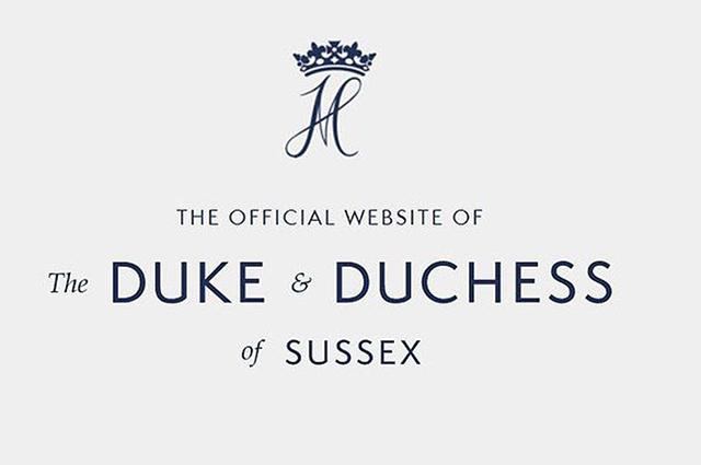 Принц Гарри и Меган Маркл отказались от королевской монограммы, теперь они используют логотип своего фонда