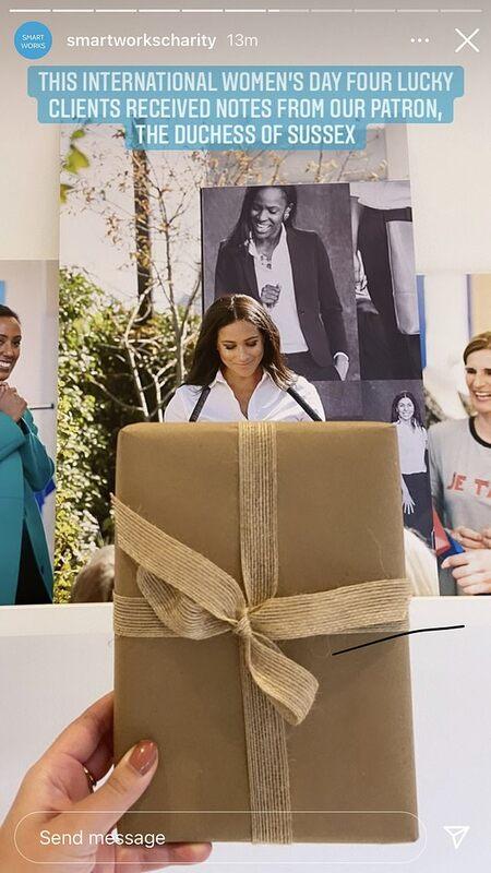 Меган Маркл неожиданно поздравила подопечных Smart Works Charity