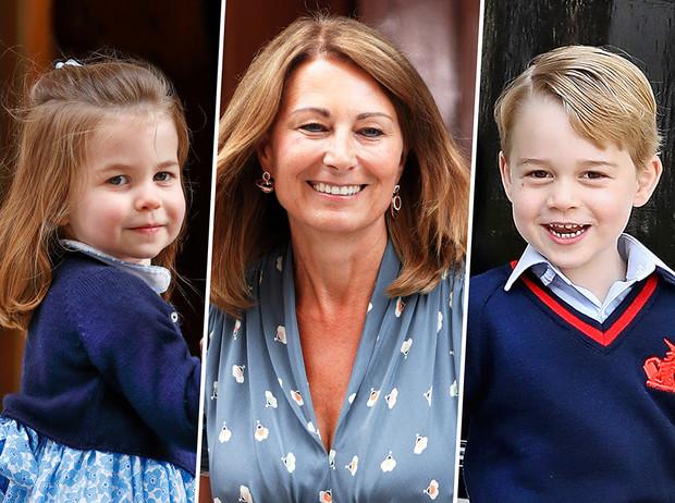 Кэрол Миддлтон рассказала, как занимается посадкой чего-нибудь со своими внуками и прививает им любовь к природе