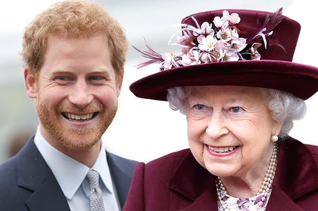 """Елизавета II может подать в суд на собственного внука: принц Гарри и Меган Маркл  """"вывели её из себя постоянными нападками"""""""
