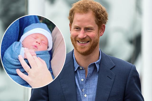 Принц Гарри познакомился с маленьким сыном Евгении Йоркской