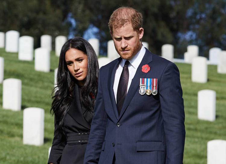 Меган Маркл не сможет «проститься» с герцогом Эдинбургским, принц Гарри полетит на похороны один