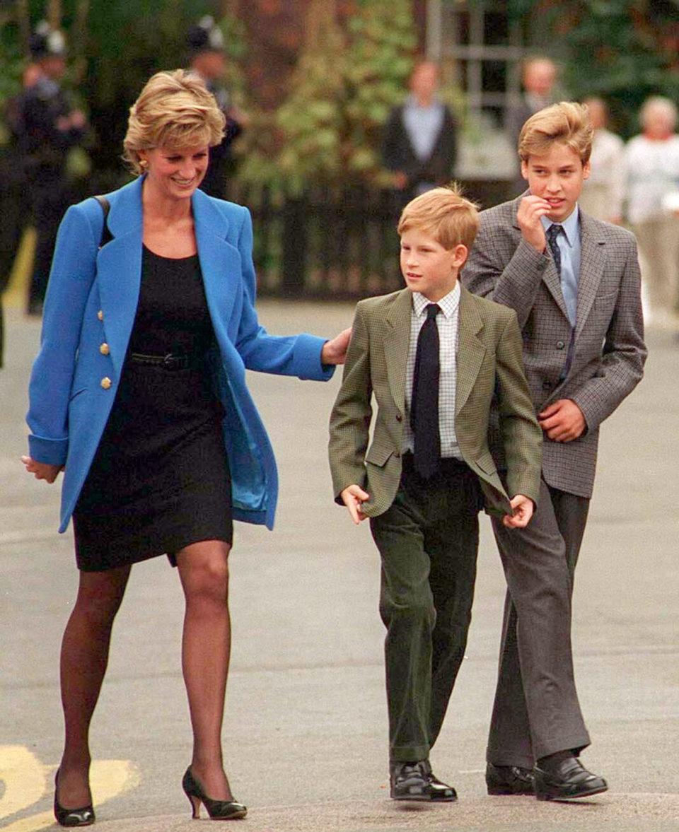 Принцы Уильям и Гарри высказались об откровенном интервью принцессы Дианы для BBC